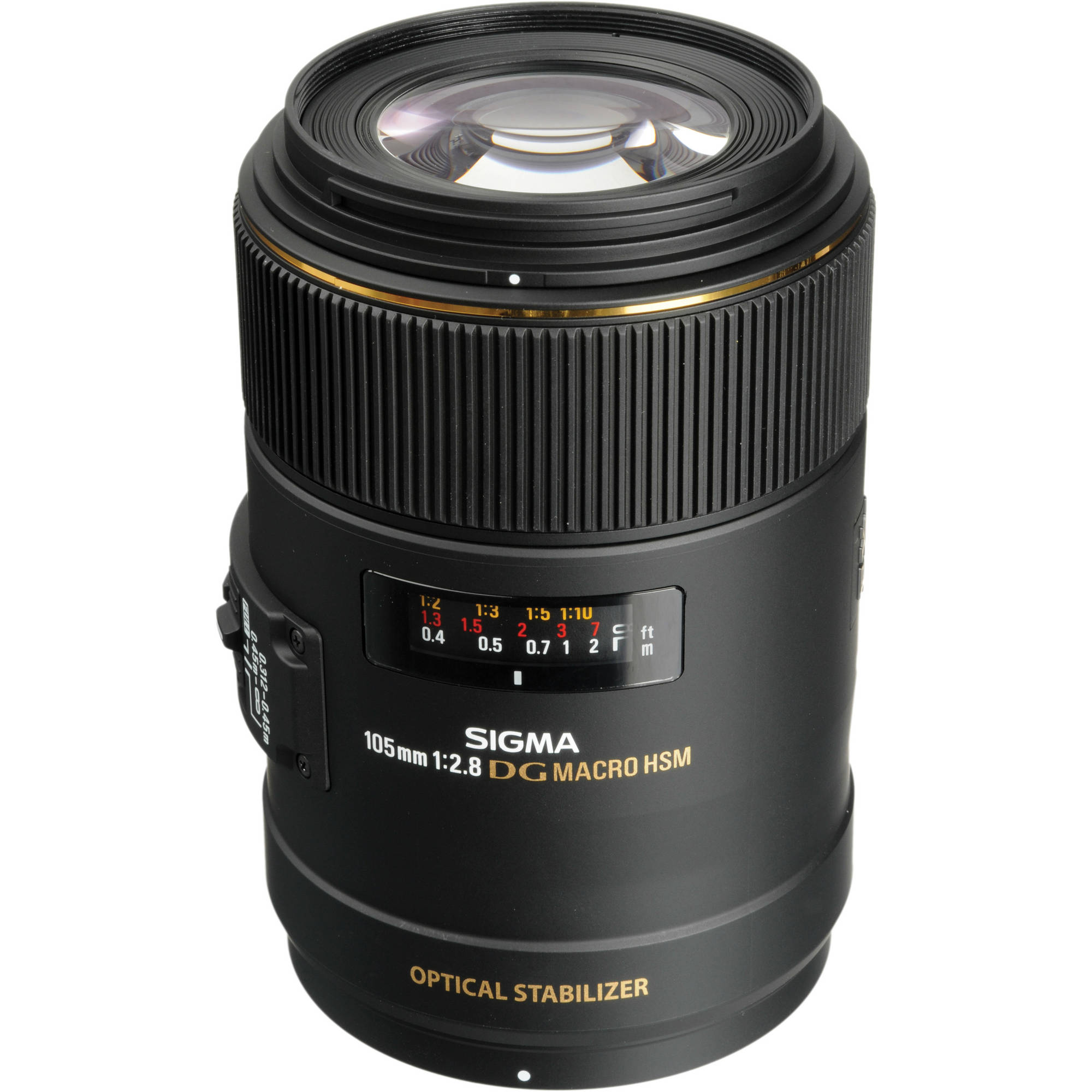 Image of Sigma AF 105mm f/2.8 DG OS Macro Lens For Canon Mount