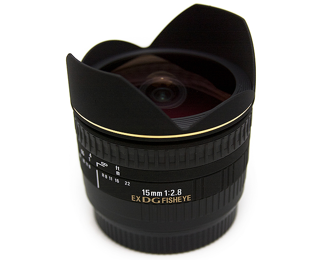 Image of Sigma AF 15mm f/2.8 EX DG Fisheye Lens For Canon Mount