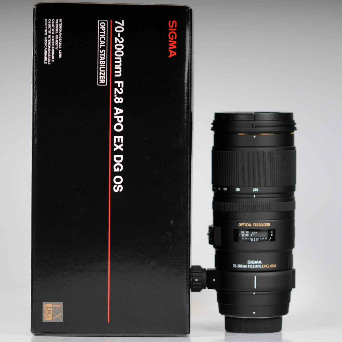 Image of Sigma APO 70-200mm f/2.8 EX DG OS HSM Lens For Nikon Mount