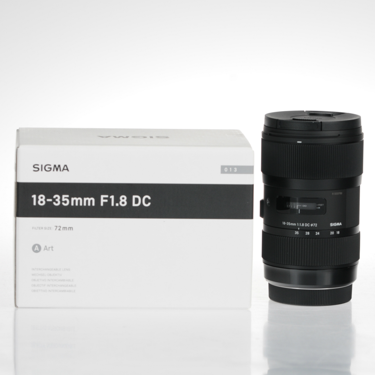 Image of Sigma Art 18-35mm f/1.8 DC HSM Lens For Canon Mount
