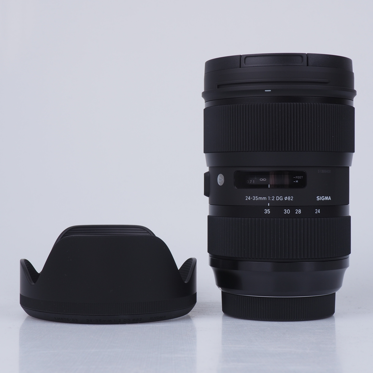 Image of Sigma ART 24-35mm F2 DG HSM lenses for Canon mount