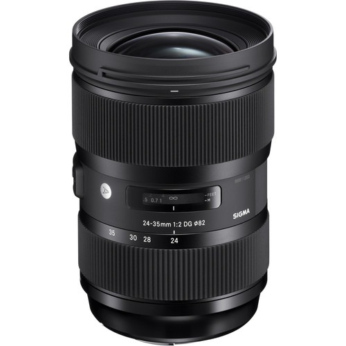 Image of Sigma ART 24-35mm F2 DG HSM lenses for Nikon Mount