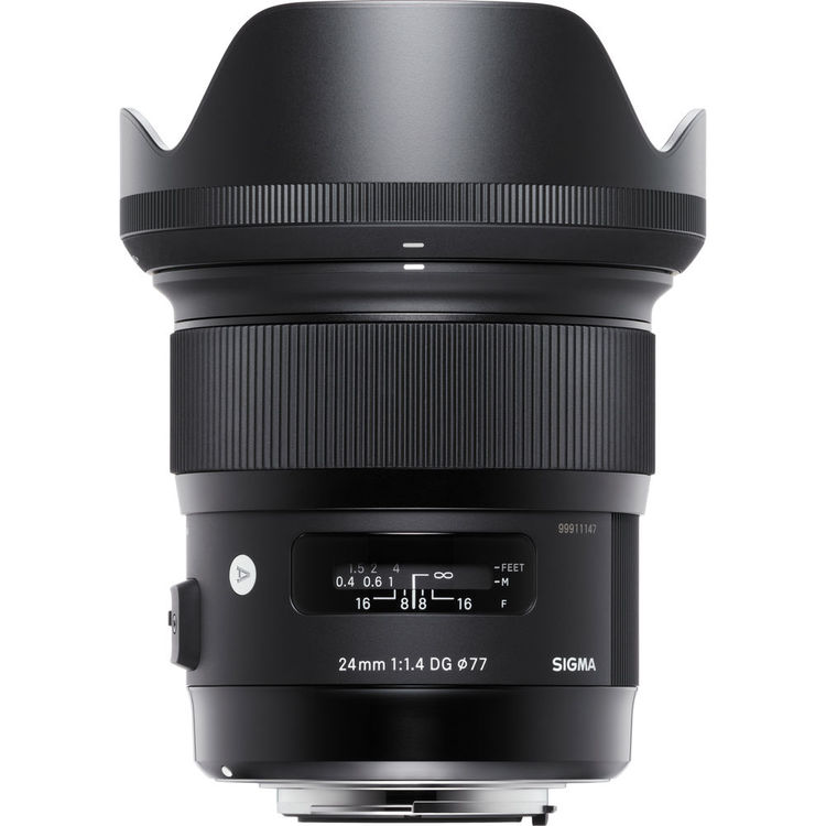 Image of Sigma ART 24mm f/1.4 DG HSM Lenses - Nikon Mount