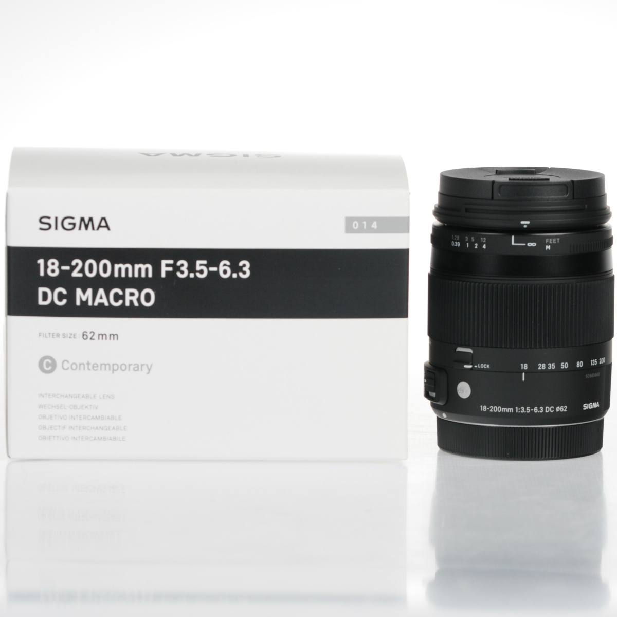 Image of Sigma 18-200mm f/3.5-6.3 DC Macro OS HSM Lens For Nikon Mount