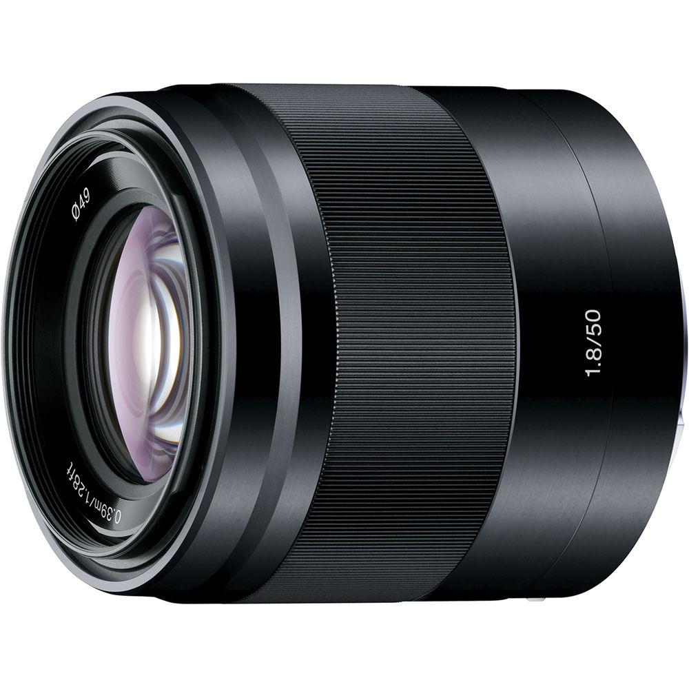 Image of Sony E 50mm F/1.8 OSS Lenses Black