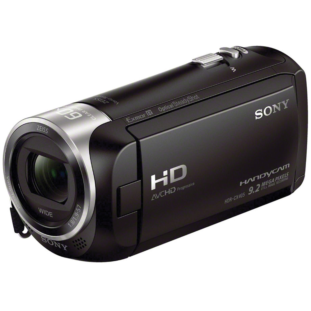 Image of Sony Handycam HDR-CX405 video camera and camcorders
