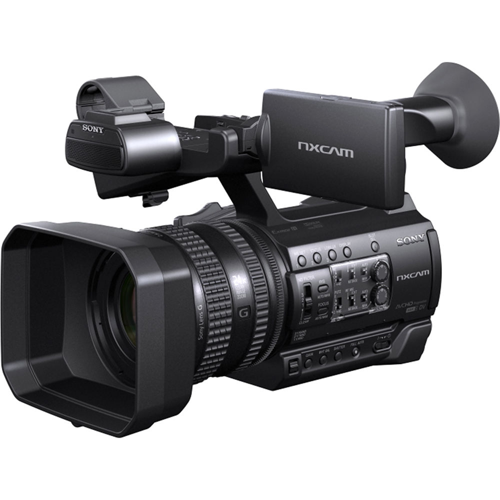 Image of Sony HXR-NX100 Full HD NXCAM Camcorder (PAL)
