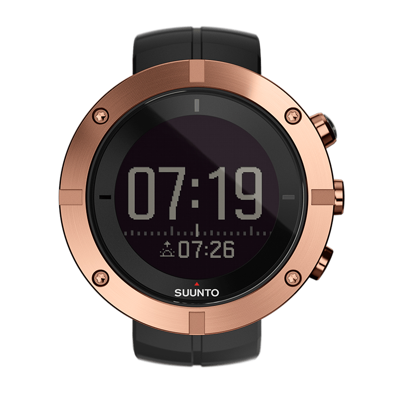 Suunto Kailash Copper Adventure Travel Watch with GPS and Adventure Timeline (SS021815000)