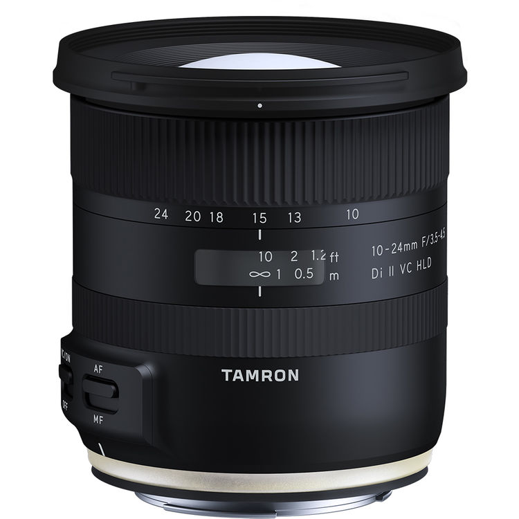 Image of Tamron 10-24mm f/3.5-4.5 Di II VC HLD Lens for Canon mount (AFB023C)