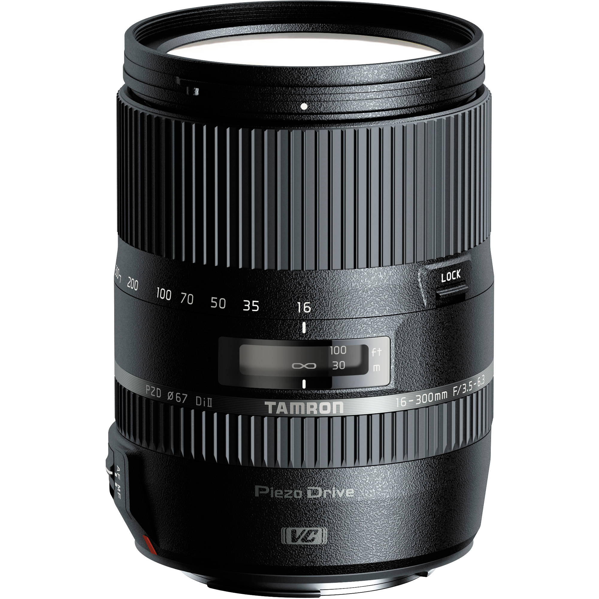 Image of Tamron 16-300mm f/3.5-6.3 Di II VC PZD Macro Lens For Canon Mount