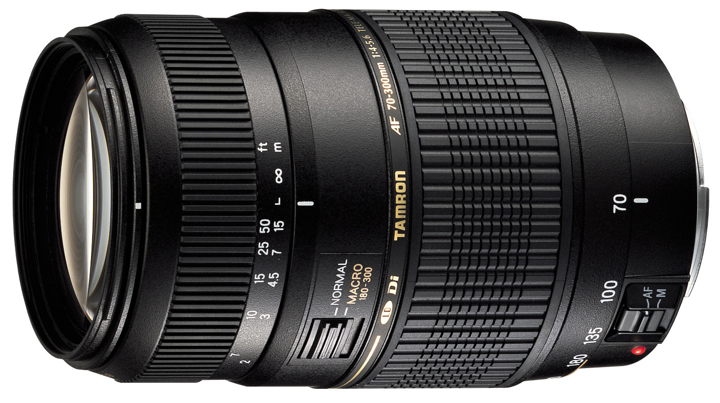 Image of Tamron AF 70-300mm f/4-5.6 Di LD Macro Lens For Canon Mount