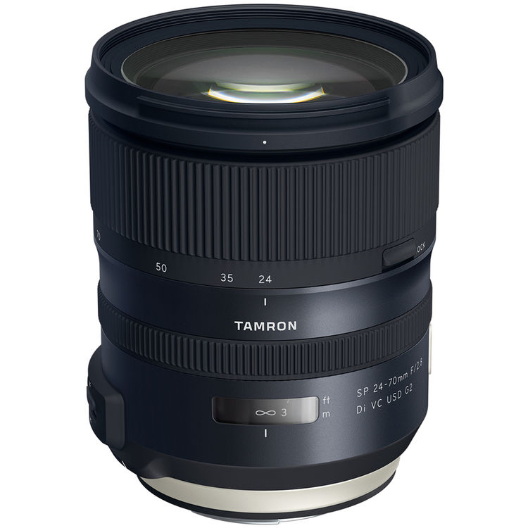 Image of Tamron SP 24-70mm f/2.8 Di VC USD G2 Lens for Canon mount (AFA032)