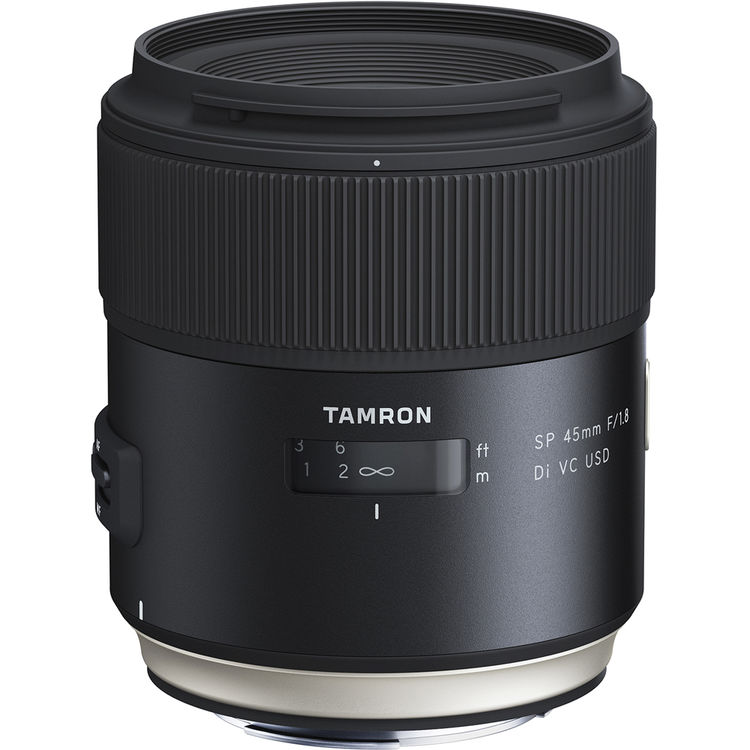 Image of Tamron SP 45mm f/1.8 Di VC USD Lens for Canon EF LensCanon EF