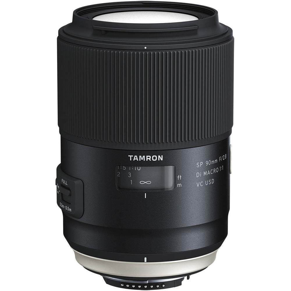 Image of Tamron SP 90MM F/2.8 Di Macro 1:1 VC USD Lenses for Nikon mount (F017)