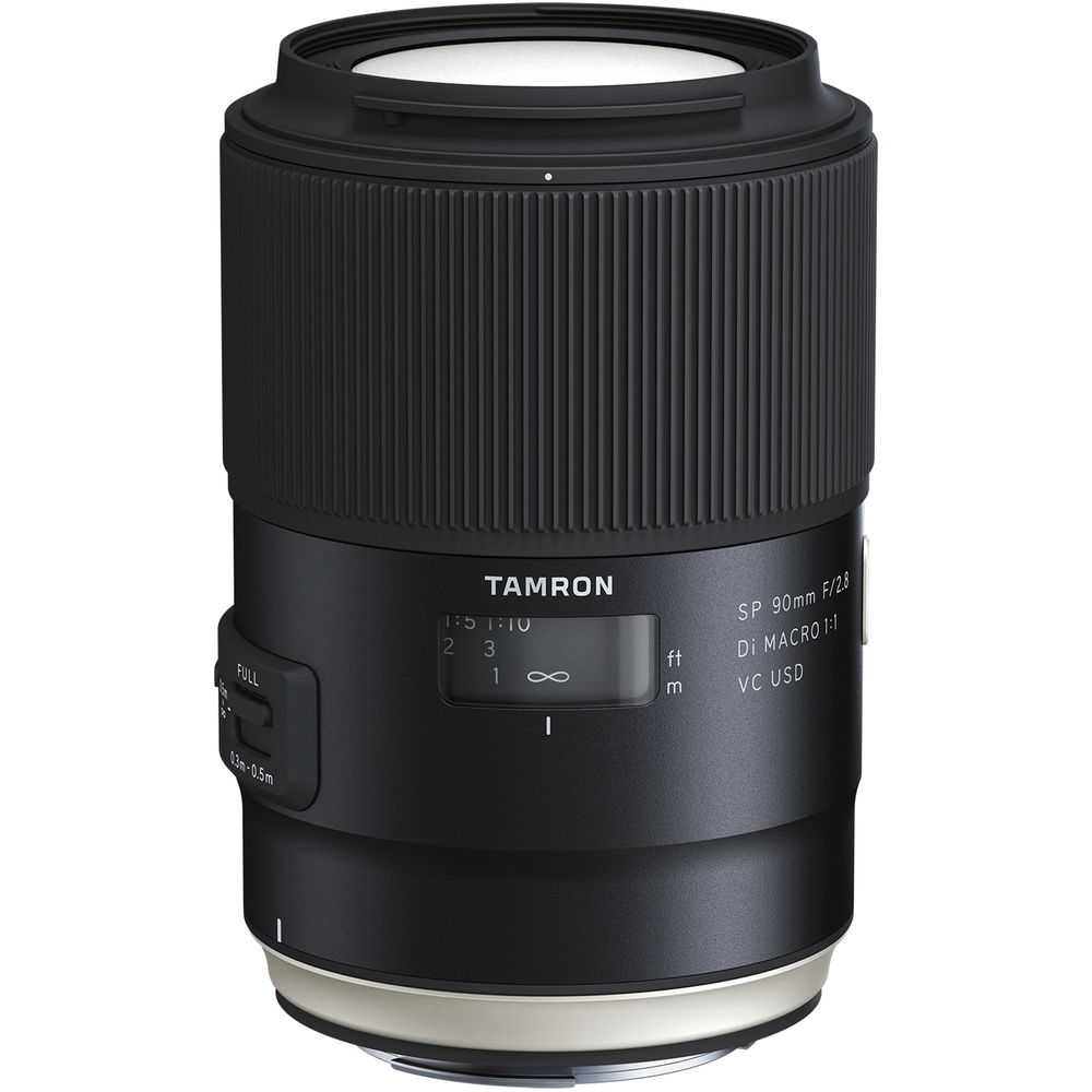 Image of Tamron SP 90MM F/2.8 Di Macro 1:1 VC USD Lenses for Canon mount (F017)