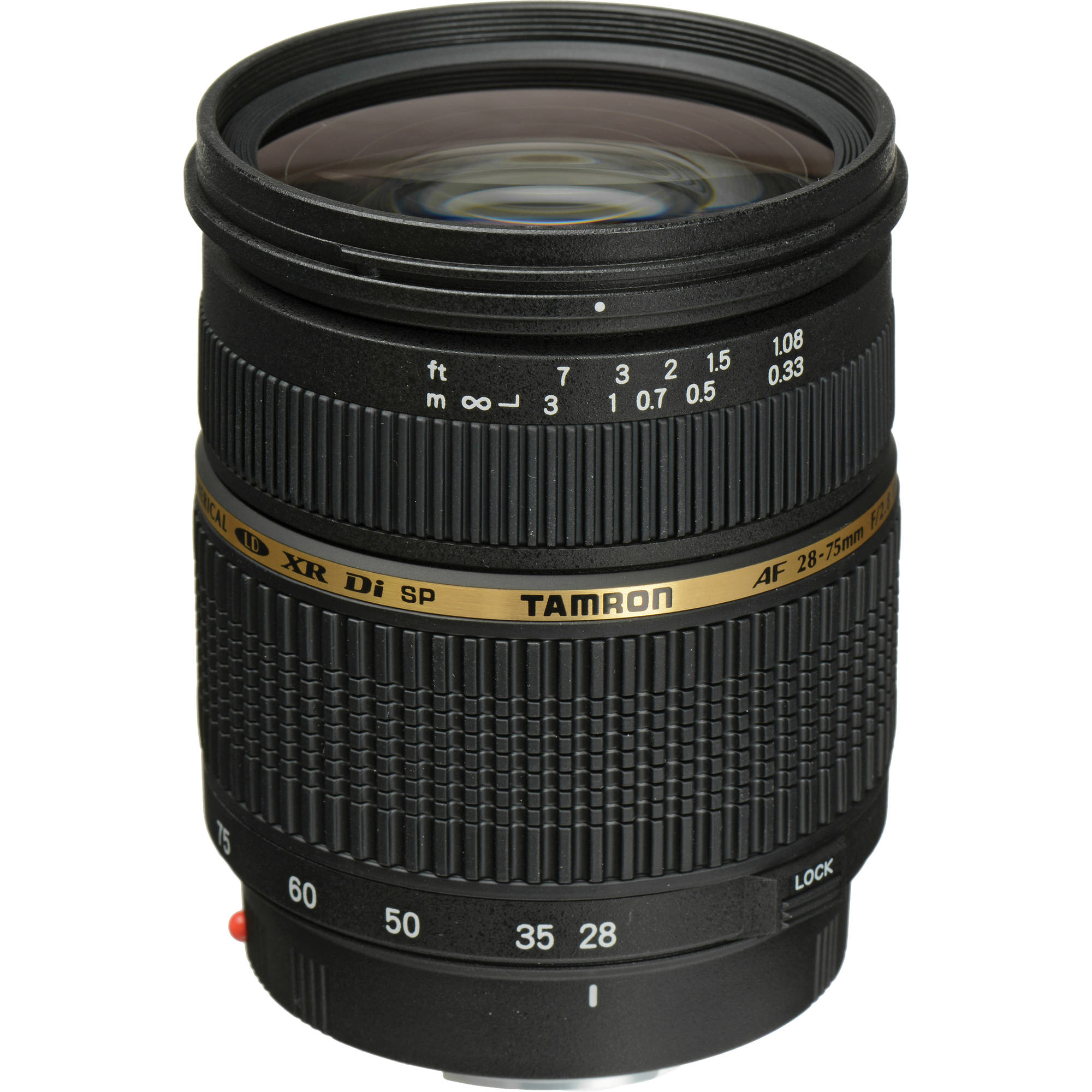 Image of Tamron SP AF 28-75mm f/2.8 Di XR LD Aspherical IF Macro Lens For Canon Mount