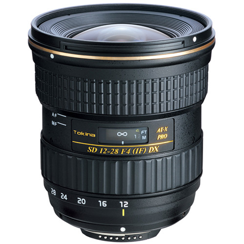 Image of Tokina AT-X 128 Pro DX AF 12-28mm f/4 Lens For Canon Mount