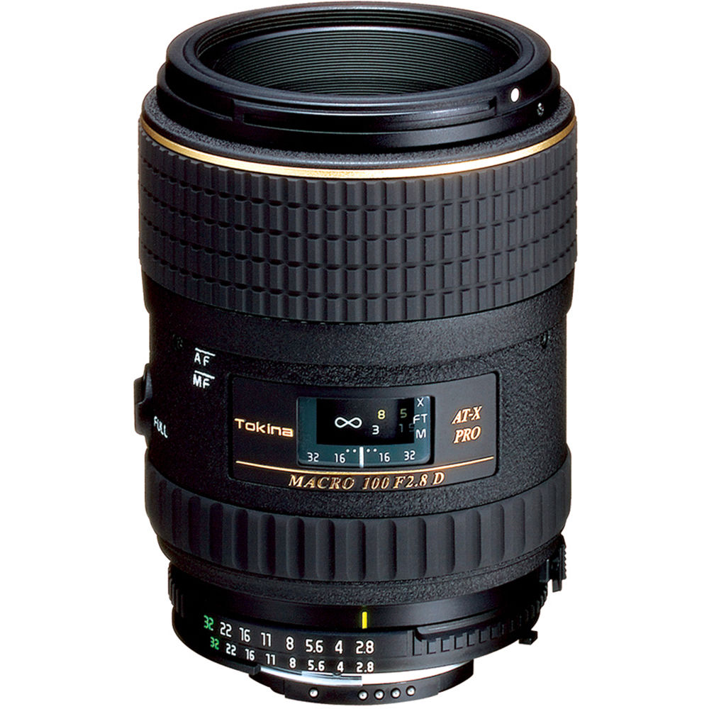Image of Tokina AT-X M100 Pro D AF 100mm f/2.8 Lenses for Nikon mount