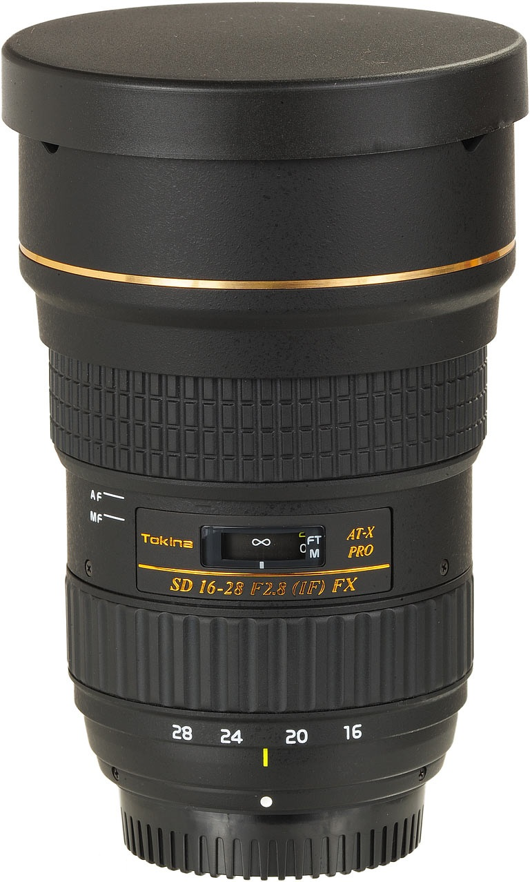 Image of Tokina AT-X PRO FX 16-28mm f/2.8 Lens For Canon Mount