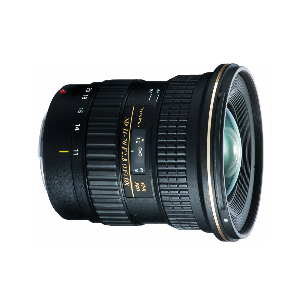 Image of Tokina AT-X 120 Pro DX AF 11-20mm f2.8 Lenses - Nikon mount
