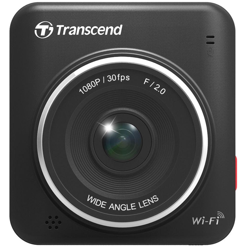 Transcend DrivePro 200 16GB WiFi Car Video Recorder With Suction Mount - TS16GDP200M