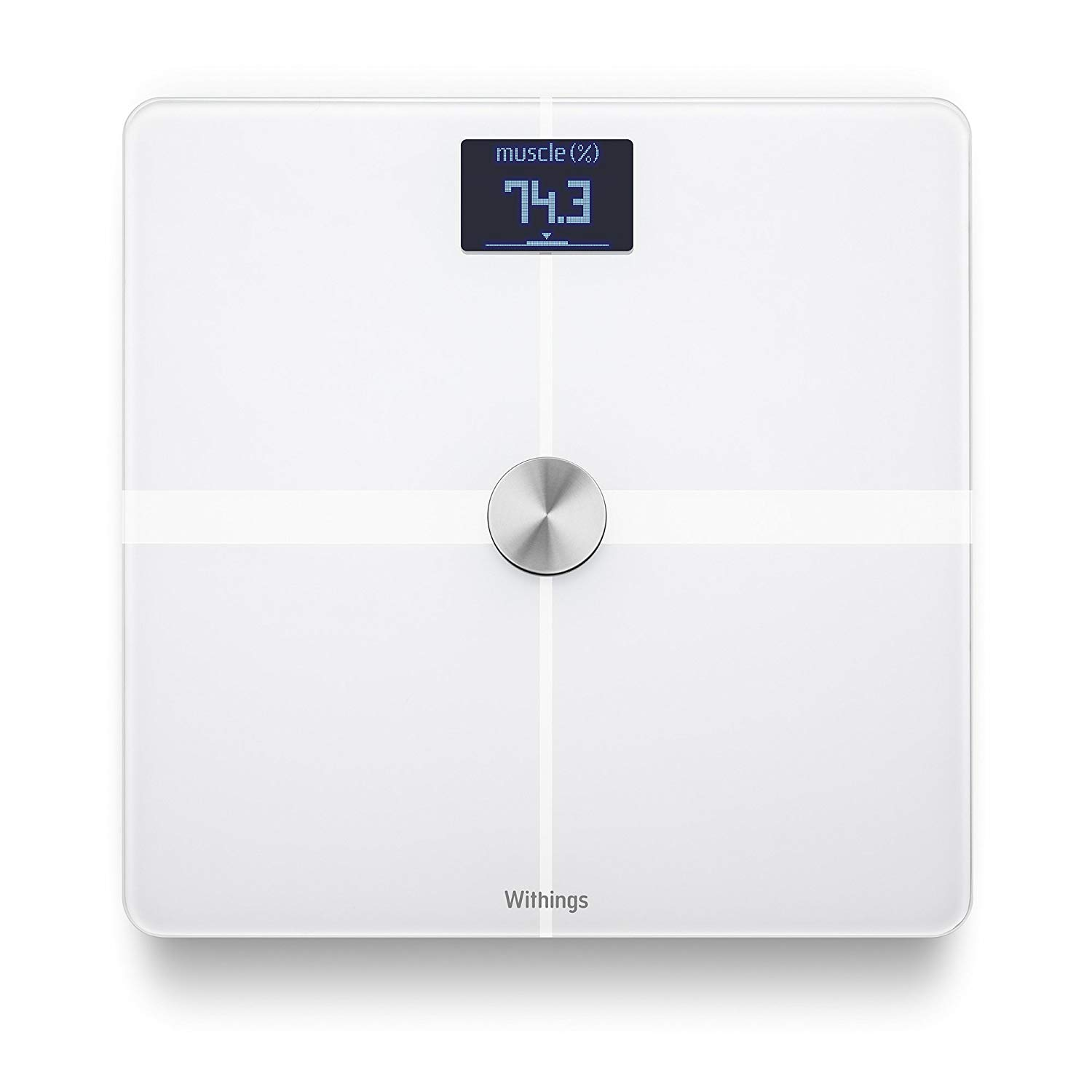 Image of Withings Body+ Smart Body Composition Wi-Fi Scale - White