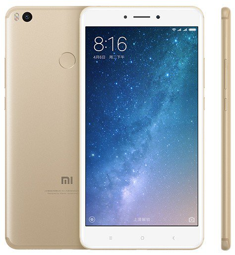 Image of Xiaomi Max 2 Dual Sim 64GB 4G SIM FREE/ UNLOCKED - Black English Only