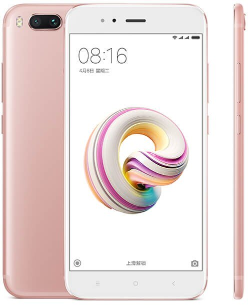 Image of Xiaomi Mi 5X Dual Sim 64GB 4G SIM FREE/ UNLOCKED - Pink CN ver. English Only