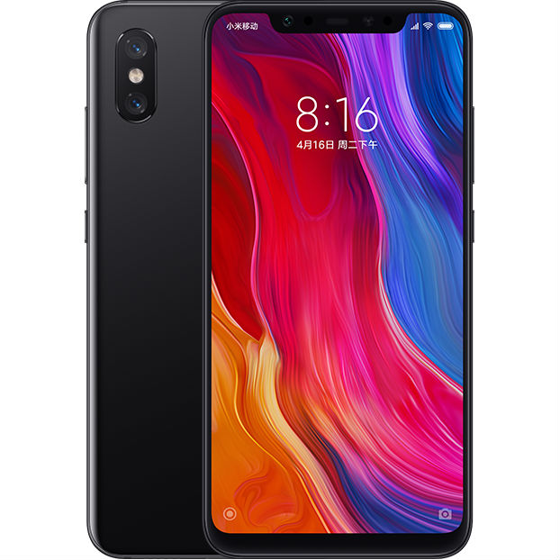 Image of Xiaomi Mi 8 6GB/64GB Dual Sim SIM FREE/ UNLOCKED - Black English Only