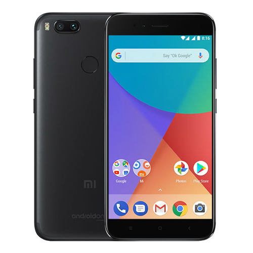 Image of Xiaomi Mi A1 32GB Dual Sim SIM FREE/ UNLOCKED - Black