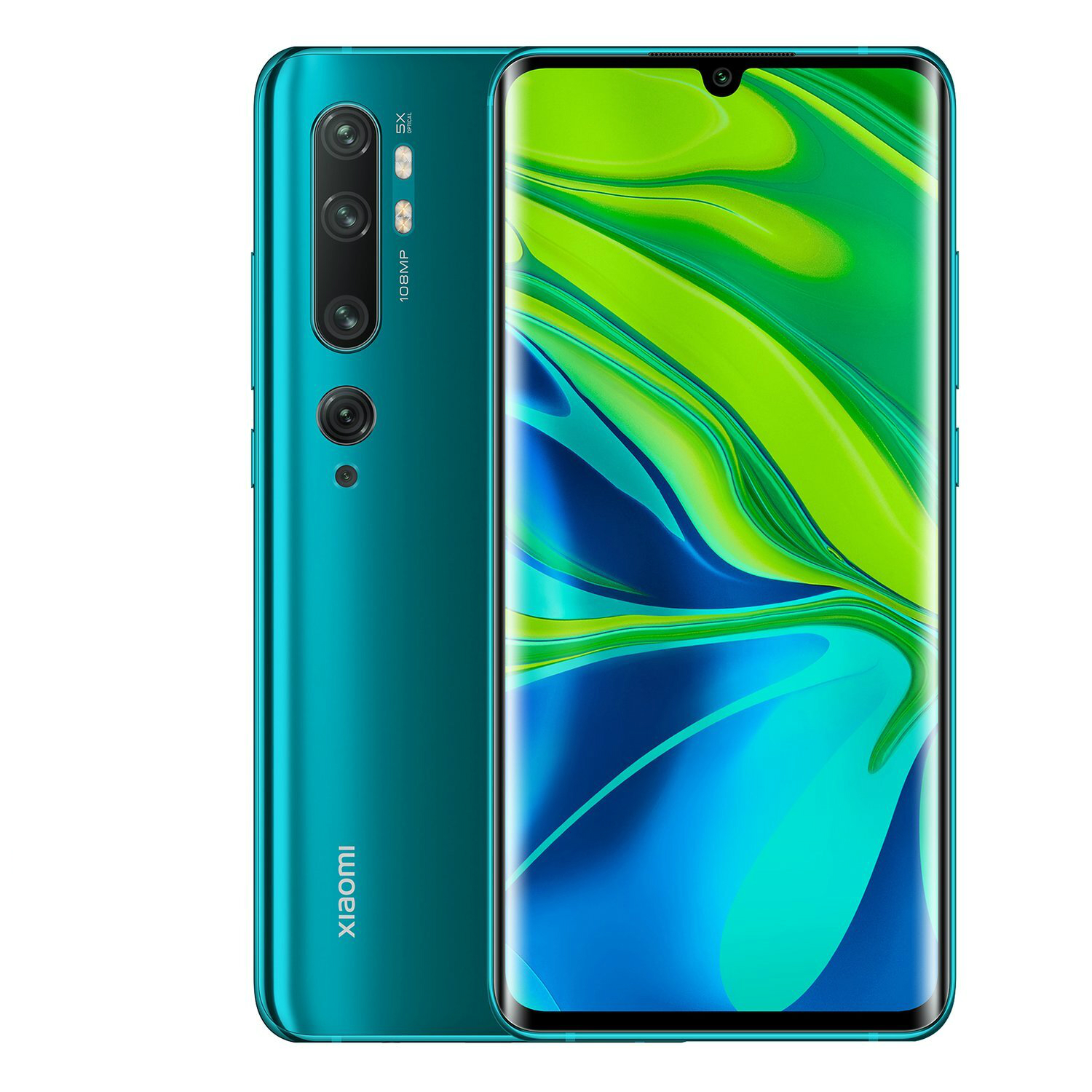 Image of Xiaomi Mi Note 10 6GB/128GB Dual Sim - Aurora Green
