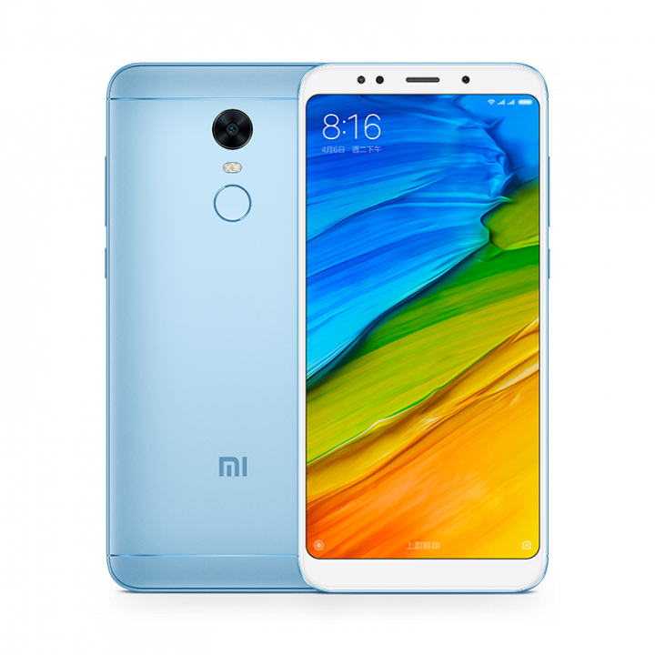 Image of Xiaomi Redmi 5 plus 4gb/ 64gb Dual sim - Blue