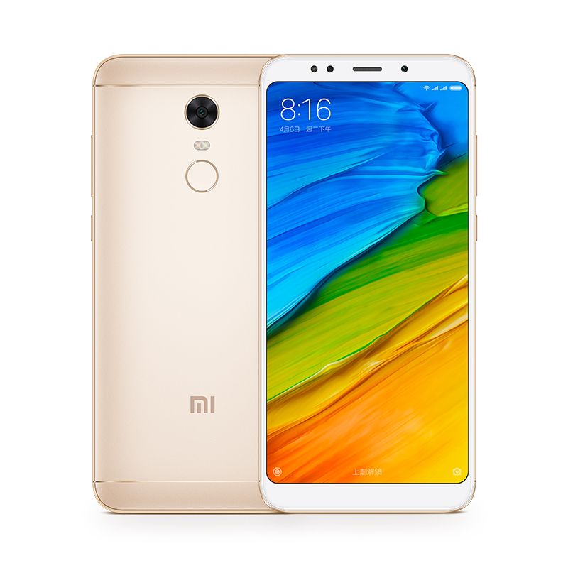 Image of Xiaomi Redmi 5 plus 4gb/ 64gb Dual sim - Gold