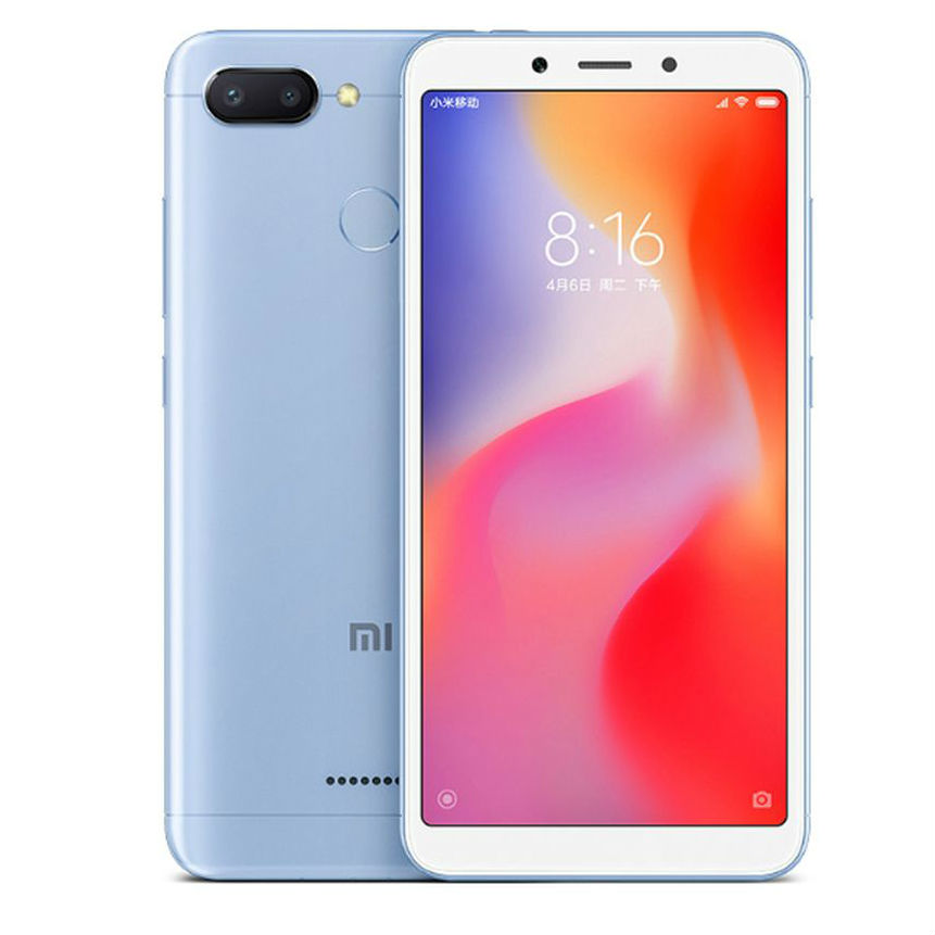 Image of Xiaomi Redmi 6 3GB/ 32GB Dual sim SIM FREE/ UNLOCKED - Blue
