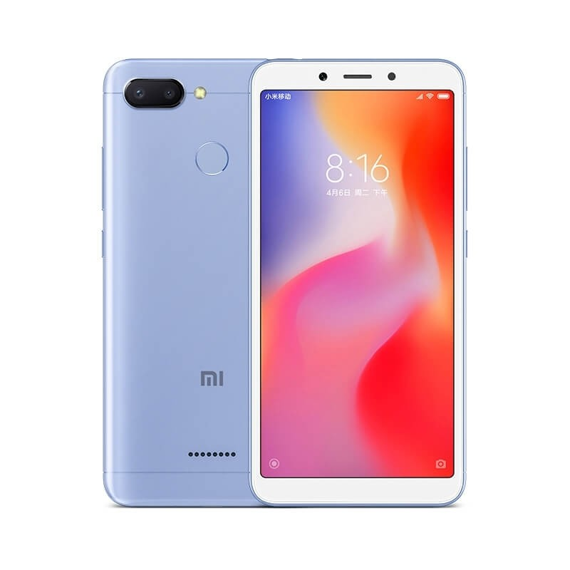 Image of Xiaomi Redmi 6 3GB/ 64GB Dual Sim SIM FREE/ UNLOCKED - Blue