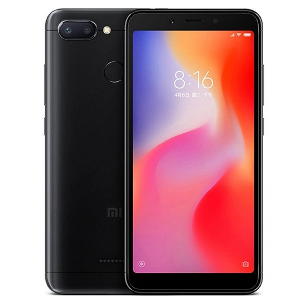 Image of Xiaomi Redmi 6 4GB/ 64GB Dual Sim SIM FREE/ UNLOCKED - Black