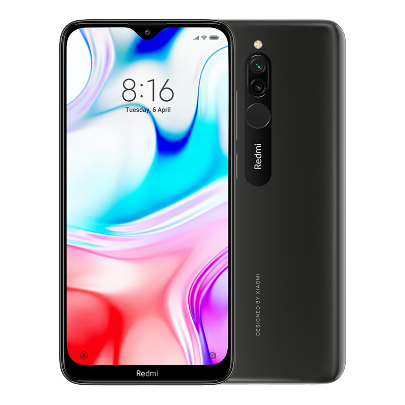 Image of Xiaomi Redmi 8 3GB/32GB Dual Sim - Onyx Black (Included 2 Years Local Warranty)