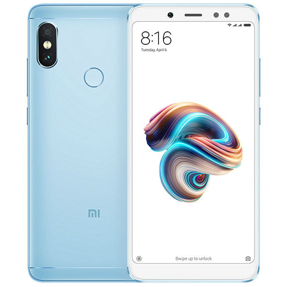 Image of Xiaomi Redmi Note 5 6GB/64GB Dual Sim SIM FREE/ UNLOCKED - Blue