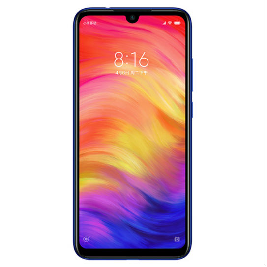 Image of Xiaomi Redmi Note 7 4GB/64GB Dual Sim SIM FREE/ UNLOCKED - Neptune Blue