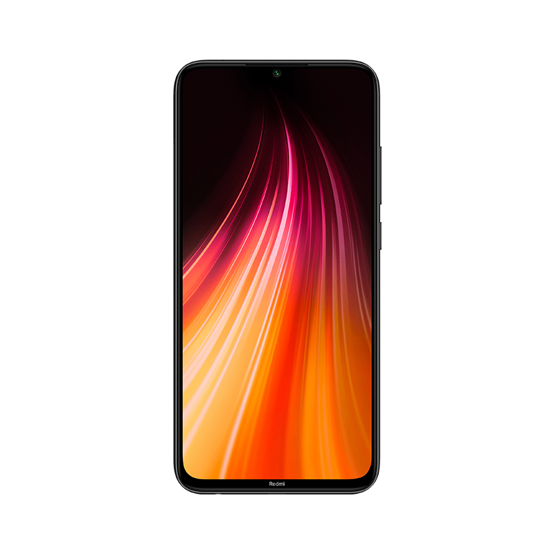 Image of Xiaomi Redmi Note 8 4GB/64GB Dual Sim with Screen Protector and Folding Case (Black) - Grey (International Ver.)