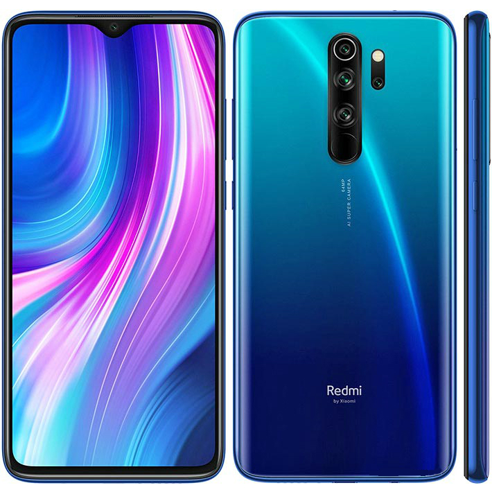 Image of Xiaomi Redmi Note 8 Pro 6GB/64GB Dual Sim - Ocean Blue