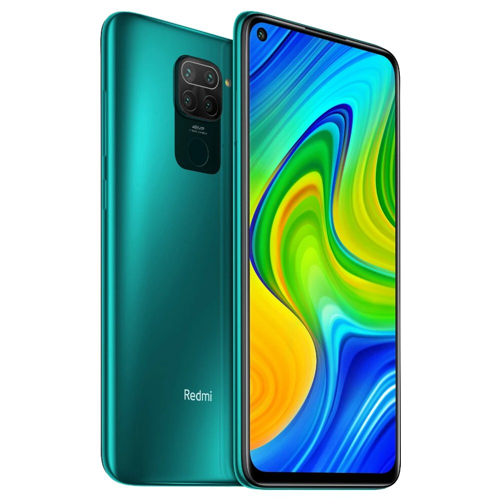 Image of Xiaomi Redmi Note 9 3GB/64GB Dual Sim - Forest Green